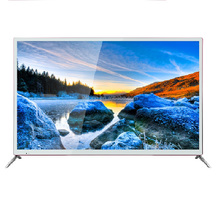 "55inch 50""58""60""65inch 2017new model SMART TV 4K UHD metal body E- LED TV manufacturer wholesale WI-FI DVBT lcd tv double glass"
