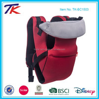Cotton Sling Baby Backpack with Multi-feature
