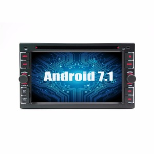 6.2' 2Din Car Stereo Android 7.1 GPS 4-core Car dvd Player Auto Radio
