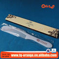 Personalized wholesale cheap disposable plastic hotel comb