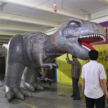 outdoor giant vivid climbing dinosaur inflatable replicate inflatable replica model