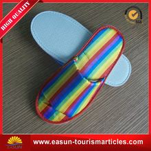 Low price comfortable disposable slipper soft slippers for airplane new washable airline slippers