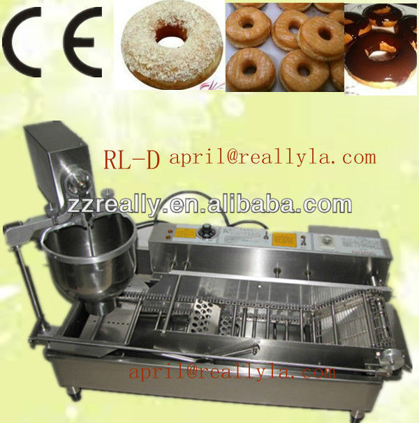 220v adjustable output automatic donuts glazer machine