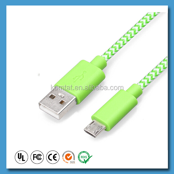 Original CD-10 Micro USB Data Charging Cable Micro 5pin Cable for K3 A5000 S660 Vibe Shot Z90 S820 P70 A319 A1000