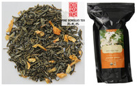 Assorted Chinese beauty jasmine flower and green tea blend healthy herbal slimming tea