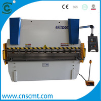 shengchong hot sale hydraulic wc67k specification metal master press brake design steel plate bending machine drawing