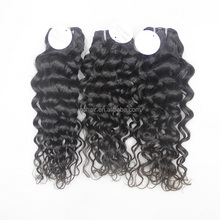 3pcs/lot High quality 7a grade virgin Italian curly best selling products