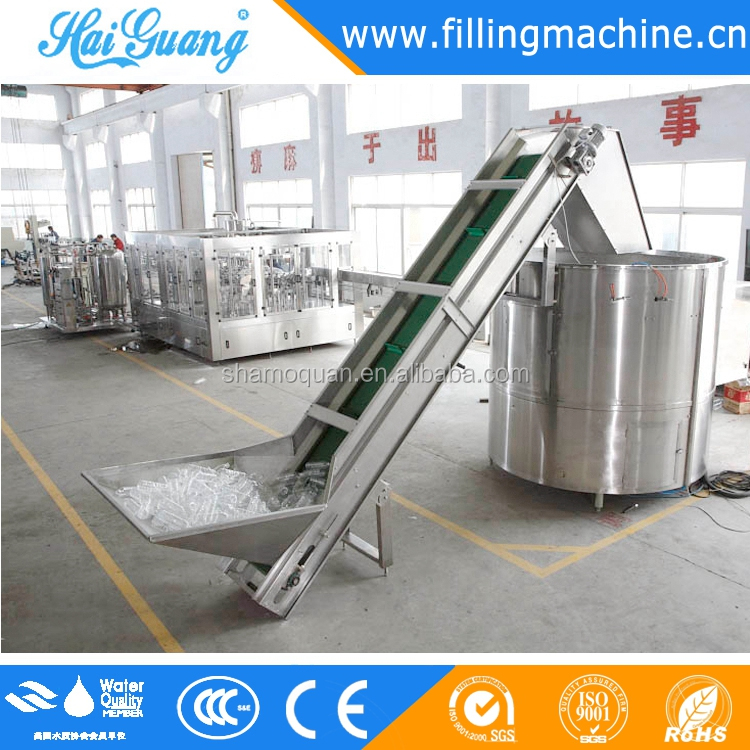 Fully Automatic 5000BPH 500ml complete bottle mineral water production line