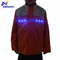 LED Flashing Protect Children 100 Cotton Safety Jacket