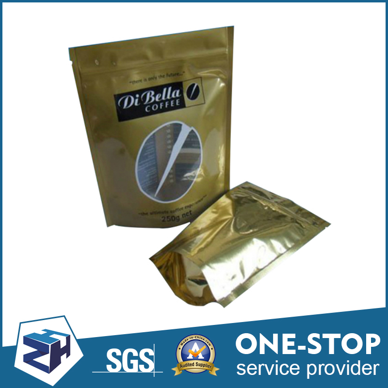 High quality stand up foil coffee chicken food bag