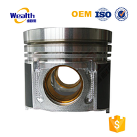 Ductile Cast Iron Diesel Engine Piston