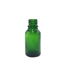 Exquisite and classy 15ml green glass perfume bottle