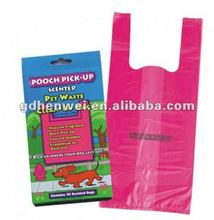 New Design Bio-degradable T-shirt Plastic bags