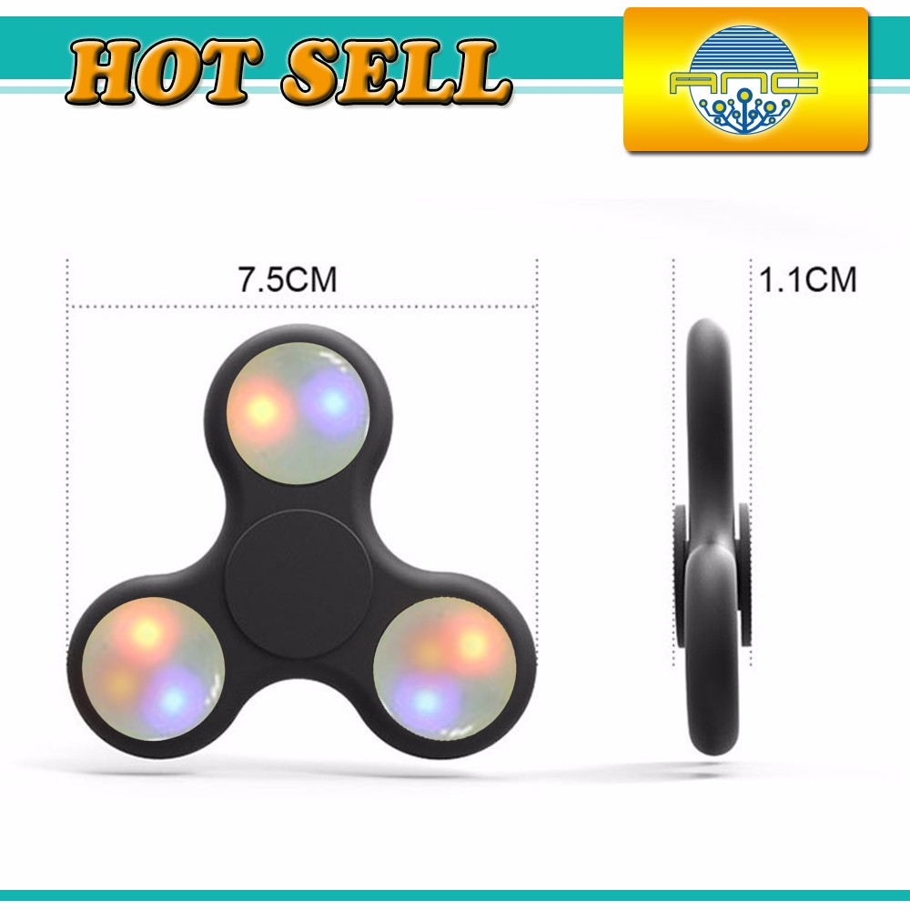 New arrival ceramic light toys air spinner toy