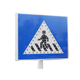 CE Certificate Advertising Reflective Traffic Solar Road Sign