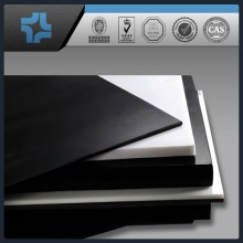 carbon or carbon fiber filled plastic sheet black teflon PTFE sheet