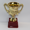 Wholesale gold Trophy Plastic Cup in 2015 cheap trophy plastic awards cup