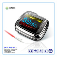 NEW TYPE LLLT soft laser therapy wrist watch for high cholesterol with factory
