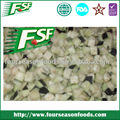 New Crop frozen eggplant dice