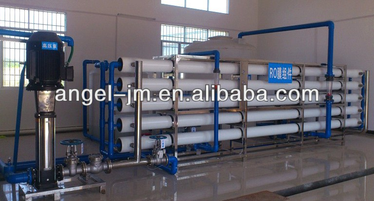 800Tons/Day Wastewater Treatment and Reuse Process unit/High pressure pump+RO plant+RO membrane cleaning device