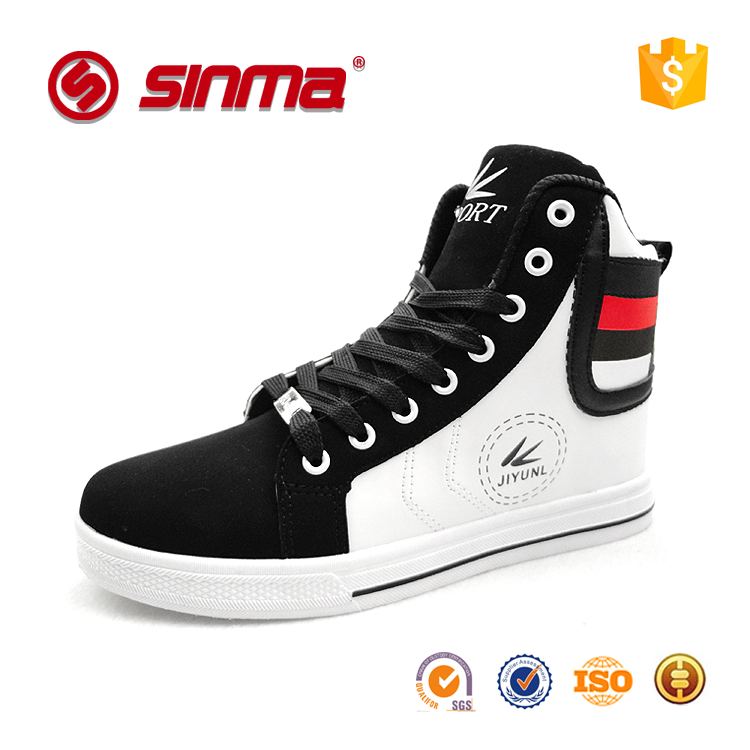 2016 china factory supply wholesale cheap size30-47# high neck casual sneakers sport shoes for men