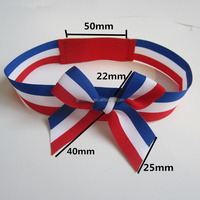 Colored Pre-tied Sheer Ribbon PA-1411 Elastic Ribbon Gift Bows
