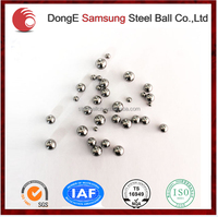 chrome steel balls for bearings with high load and considerable hardness