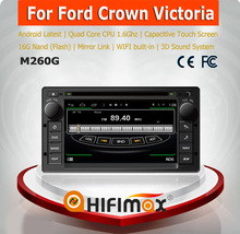 HIFIMAX Android 4.4.4 car multimedia for Ford Crown Victoria with 4 Core CPU 16G Hard disk HD1024*600 capacitive screen
