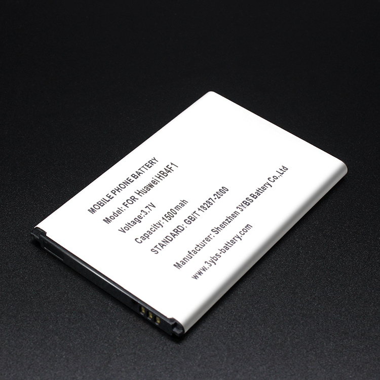 3.7v 1500mah Lithium Ion Cellphone battery for Huawei HB4F1 replacement battery for Ascend M860