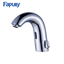 Fapully High Quality touchless automatic Sensor Faucet mixer wash brass bathroom sensor faucet