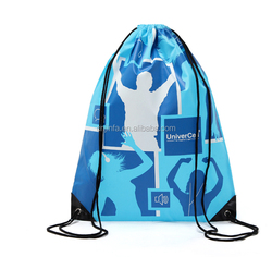 polyester fabric drawstring bag