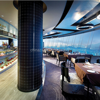 High Quality Revolving Restaurant In High Builing