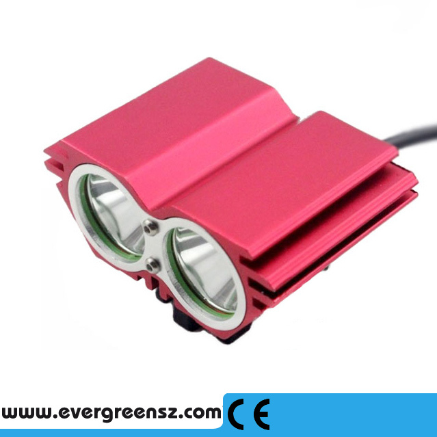 8.4V Waterproof Battery <strong>Mini</strong> Bicycle Front Light 3000Lumen