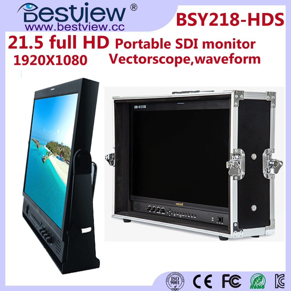 BESTVIEW monitor BSY218-HD 21In HD-SDI/HDMI/RGBHV/Component Monitor