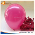 High Quality Latex Round Balloon, Size of 7 inch, Rose Color Balloon