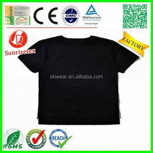 New design Cheap blank short sleeve baby t shirts Factory