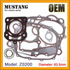 ATV,Motorcycle Diesel Engine Cylinder Head Gasket for ZS200