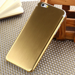 "High Quality Titanium Alloy Hard Back Cover Case for iPhone 6 6S 4.7 ""Metal Case"