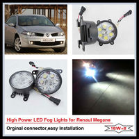 car accessories 12v 18w led fog light for Renault Megane / Scenic