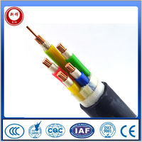 PVC Insulation Steel Tape Armored PVC Sheath Electric Power Cable 0.6/1kV
