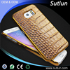 Latest crocodile pattern genuine leather phone case for Huawei honor 6 6 plus 7 4c p8 lite cell phone accessory
