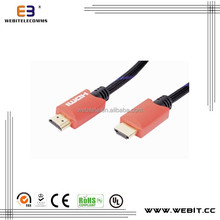 high speed hdmi to hdmi cable for tv 1.4v 19pin