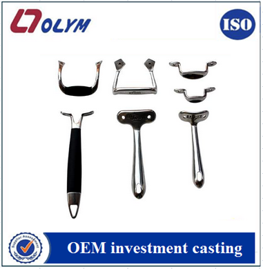 OEM kitchen cookware handle accessories spare parts precision investment castings