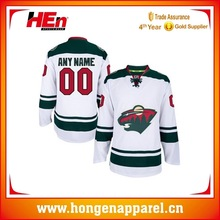 High School OEM Ice Hockey Jersey, New Design Ice Hockey Uniform From China Manufacturer