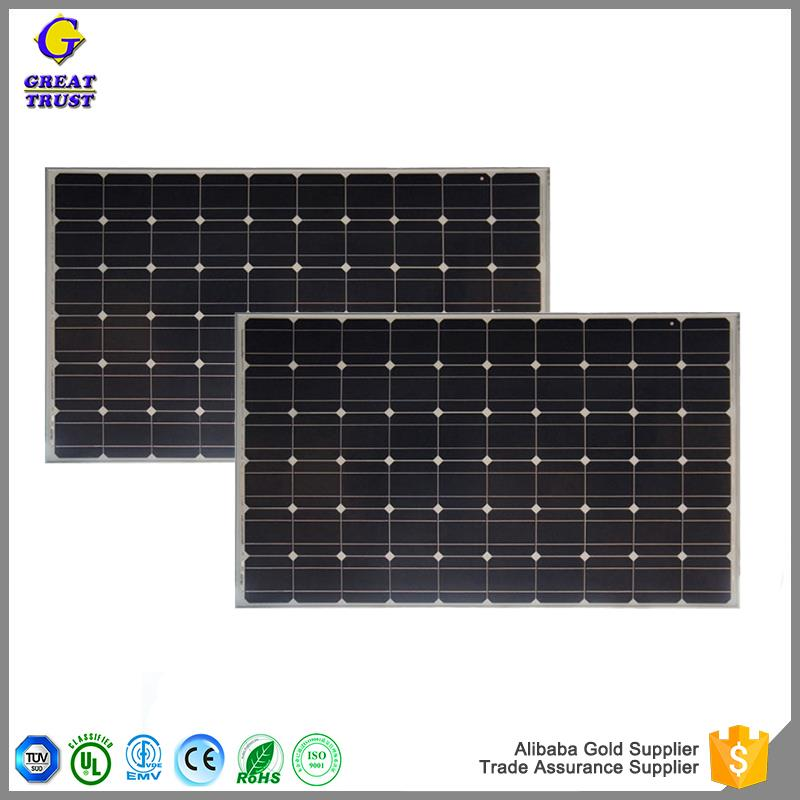 Multifunctional solar panel cleaning solar panel support structures solar panel 100w