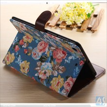 For apple ipad mini 3 leather case, wrist strap case for ipad mini 3, For ipad mini 3 tablet pc protector case