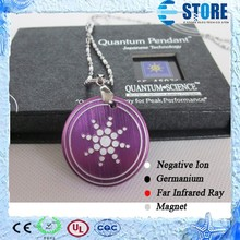 Fashion Accessories 2015 Stainless Steel Jewelry Quantum Pendant Price In India