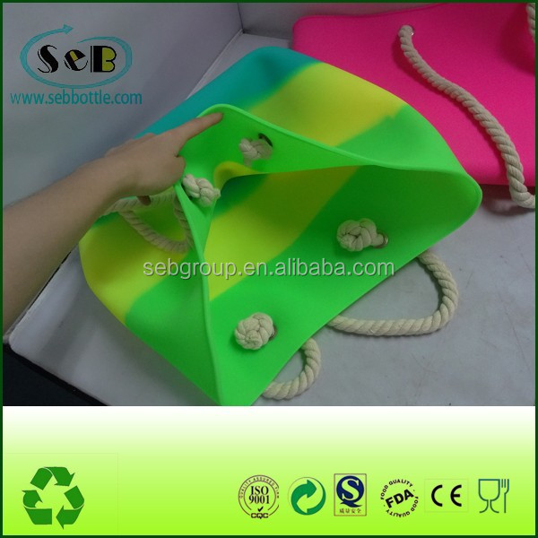 water proof candy silicon bag for beach