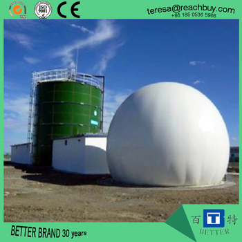 biogas digester double membrane gas holder anaerobic fermentation tank