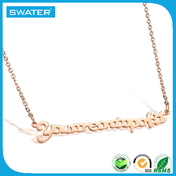 Best Sale Jewelry Fashion Letter P Pendant Jewelry For Women